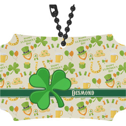 St. Patrick's Day Rear View Mirror Ornament (Personalized)