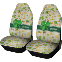St. Patrick's Day Car Seat Covers (Set of Two) (Personalized)