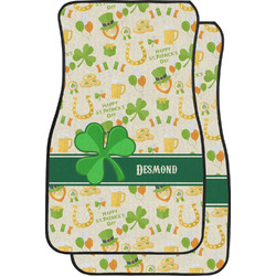 St. Patrick's Day Car Floor Mats (Front Seat) (Personalized)