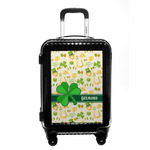 St. Patrick's Day Carry On Hard Shell Suitcase (Personalized)