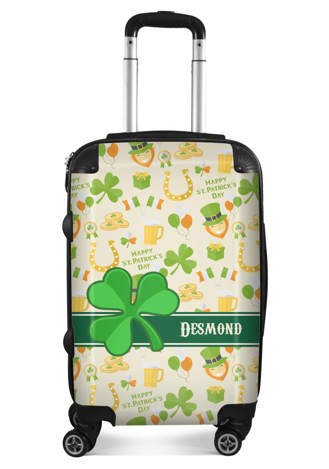 Personalized YouCustomizeIt Clover Duffel Bag