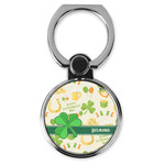 St. Patrick's Day Cell Phone Ring Stand & Holder (Personalized)