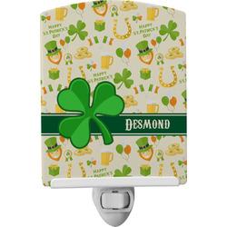 St. Patrick's Day Ceramic Night Light (Personalized)