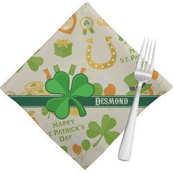 St. Patrick's Day Napkins (Set of 4) (Personalized)