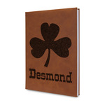 St. Patrick's Day Leatherette Journal (Personalized)