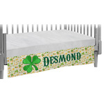St. Patrick's Day Crib Skirt (Personalized)