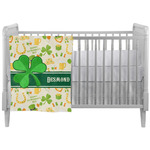 St. Patrick's Day Crib Comforter / Quilt (Personalized)