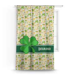 St. Patrick's Day Curtain (Personalized)