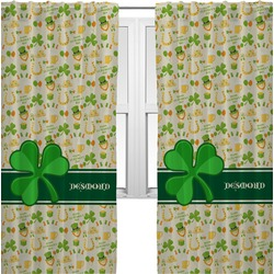 St. Patrick's Day Curtains (2 Panels Per Set) (Personalized)