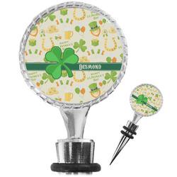 St. Patrick's Day Wine Bottle Stopper (Personalized)