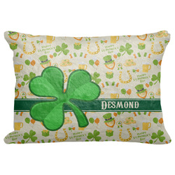 """St. Patrick's Day Decorative Baby Pillowcase - 16""""x12"""" (Personalized)"""