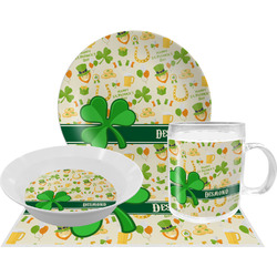 St. Patrick's Day Dinner Set - 4 Pc (Personalized)