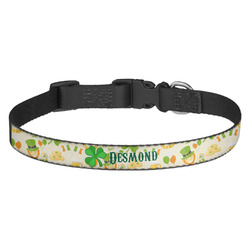 St. Patrick's Day Dog Collar - Multiple Sizes (Personalized)