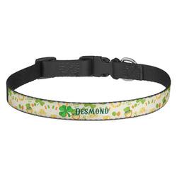 St. Patrick's Day Dog Collar - Medium (Personalized)