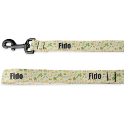 St. Patrick's Day Deluxe Dog Leash (Personalized)