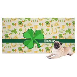 St. Patrick's Day Pet Towel (Personalized)