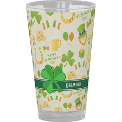 St. Patrick's Day Drinking / Pint Glass (Personalized)