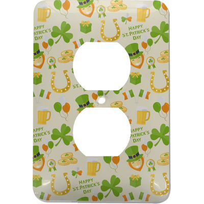 St. Patrick's Day Electric Outlet Plate (Personalized)