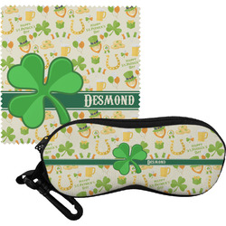 St. Patrick's Day Eyeglass Case & Cloth (Personalized)