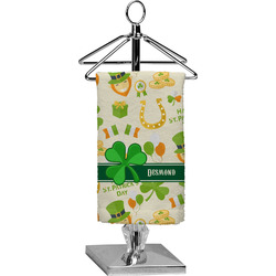 St. Patrick's Day Finger Tip Towel - Full Print (Personalized)