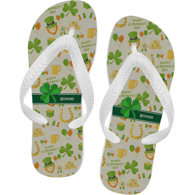 St. Patrick's Day Flip Flops (Personalized)