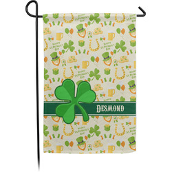 St. Patrick's Day Garden Flag - Single or Double Sided (Personalized)