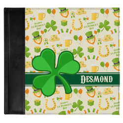 St. Patrick's Day Genuine Leather Baby Memory Book (Personalized)