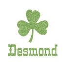 St. Patrick's Day Glitter Iron On Transfer- Custom Sized (Personalized)