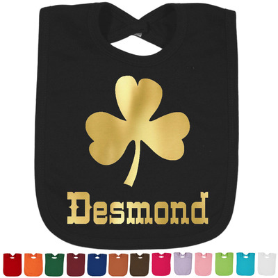 St. Patrick's Day Foil Baby Bibs (Personalized)