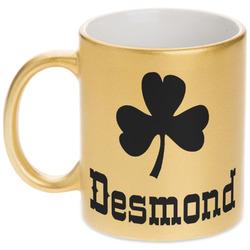 St. Patrick's Day Gold Mug