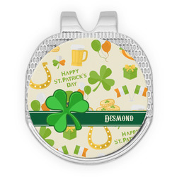 St. Patrick's Day Golf Ball Marker - Hat Clip