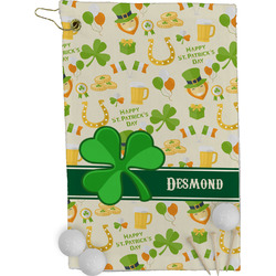 St. Patrick's Day Golf Towel - Full Print (Personalized)