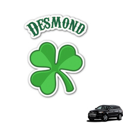 St. Patrick's Day Graphic Car Decal (Personalized)