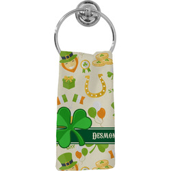 St. Patrick's Day Hand Towel - Full Print (Personalized)