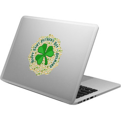 St. Patrick's Day Laptop Decal (Personalized)