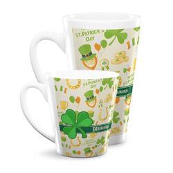 St. Patrick's Day Latte Mug (Personalized)