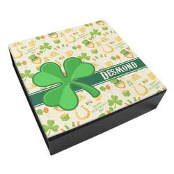 St. Patrick's Day Leatherette Keepsake Box - 3 Sizes (Personalized)