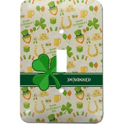 St. Patrick's Day Light Switch Cover (Single Toggle) (Personalized)