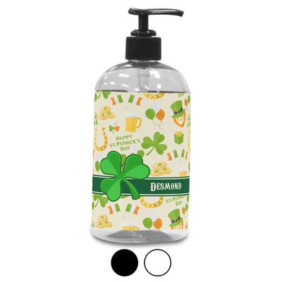 St. Patrick's Day Plastic Soap / Lotion Dispenser (Personalized)