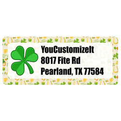 St. Patrick's Day Return Address Labels (Personalized)