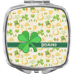 St. Patrick's Day Compact Makeup Mirror (Personalized)