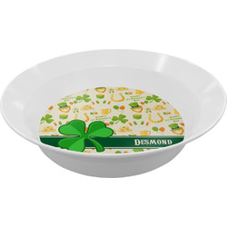 St. Patrick's Day Melamine Bowl (Personalized)