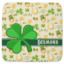 "St. Patrick's Day Memory Foam Bath Mat - 48""x48"" (Personalized)"