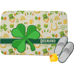 "St. Patrick's Day Memory Foam Bath Mat - 24""x17"" (Personalized)"