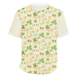 St. Patrick's Day Men's Crew T-Shirt (Personalized)