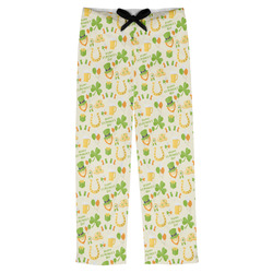 St. Patrick's Day Mens Pajama Pants (Personalized)