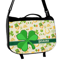 St. Patrick's Day Messenger Bag (Personalized)