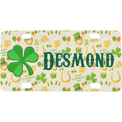 St. Patrick's Day Mini / Bicycle License Plate (Personalized)