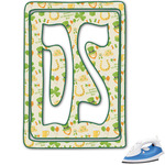 St. Patrick's Day Monogram Iron On Transfer (Personalized)