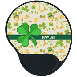 St. Patrick's Day Mouse Pad with Wrist Support